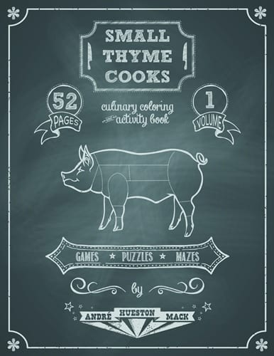 Small Thyme Cooks coloring book