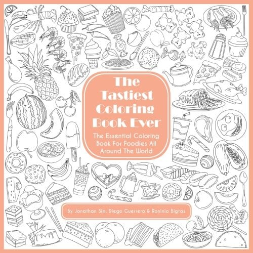 The Tastiest Coloring Book Ever