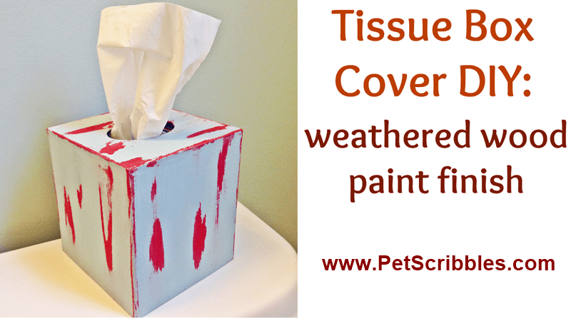 Tissue Box Cover video tutorial