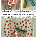 How to decorate lip balm containers for Valentine's Day!