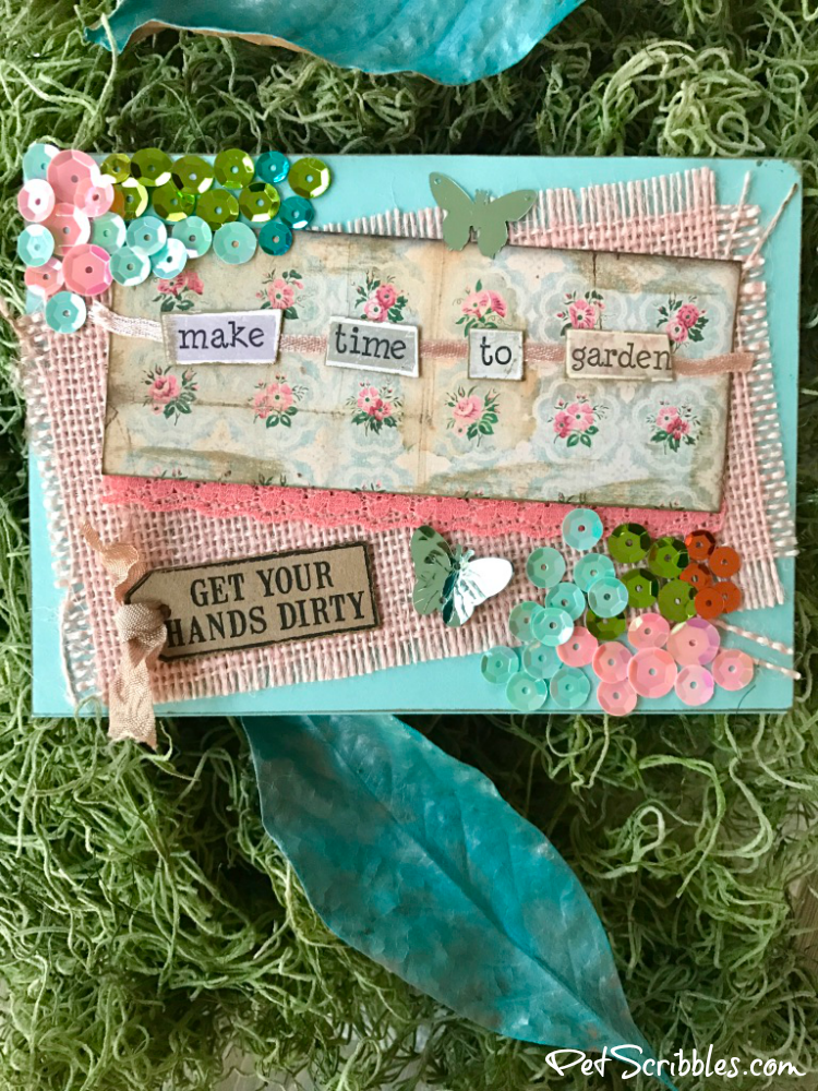 DIY Handmade Card: Time to Garden