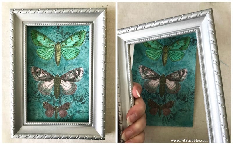 How to make a faux moss frame (with a kit!)