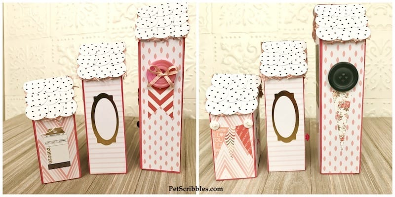 Little Pink Houses for You and Me: making mixed media wood houses