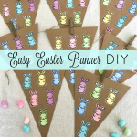 How to make a fun Easter Banner with Canvas Corp!