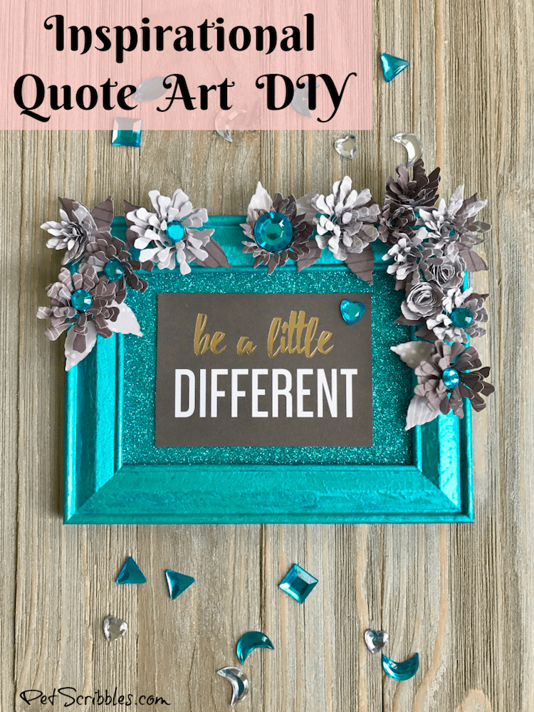 Inspirational Quote Art DIY