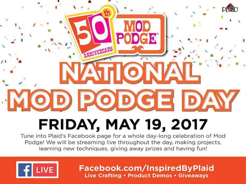 National Mod Podge Day