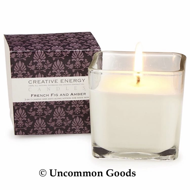 Uncommon Goods 2 in 1 Body Lotion Candle