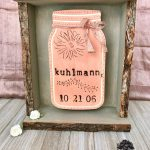 How to Make a Beautiful Rustic Wedding Date Sign