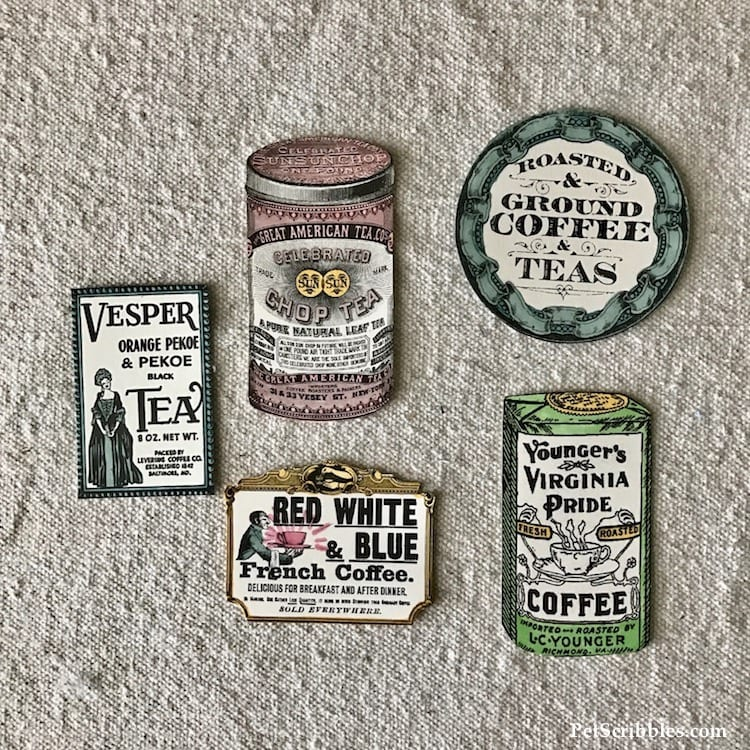 How to Make Charming Decorative Vintage Style Magnets