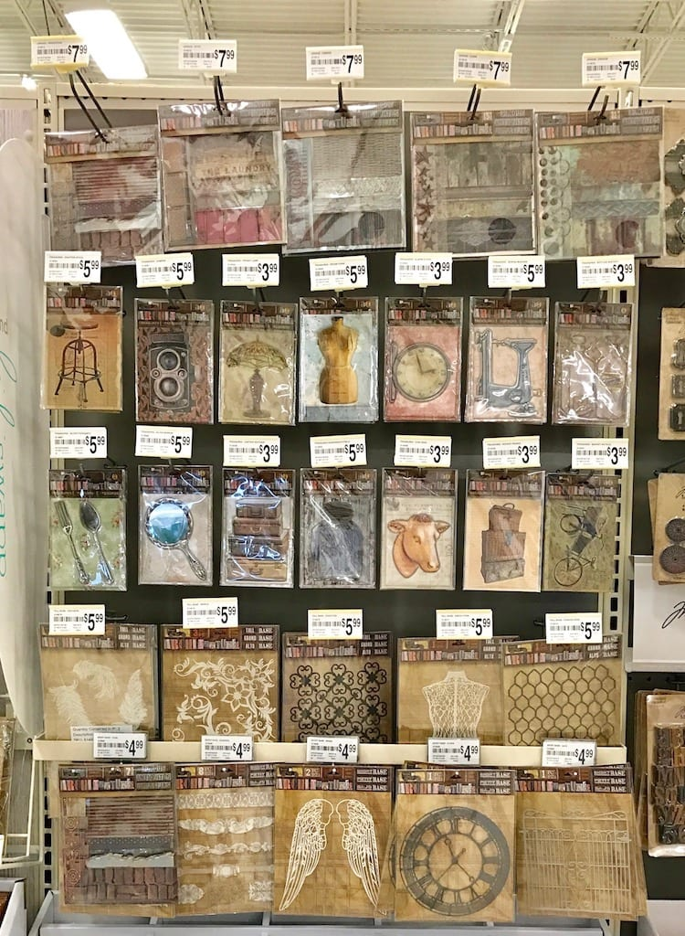7gypsies Architextures display at Michaels