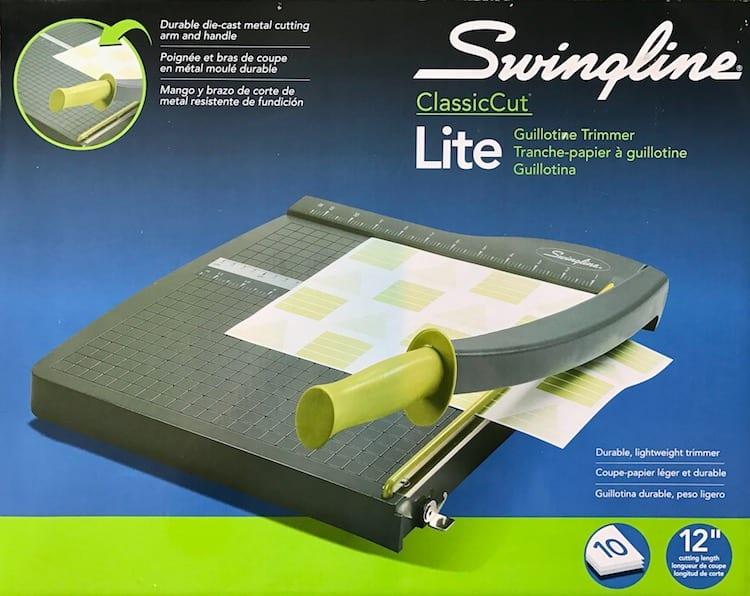 Swingline Classic Cut Paper Trimmer
