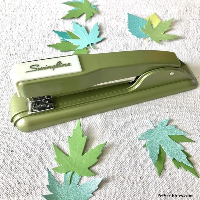Swingline Legacy 27 Stapler in retro avocado green!