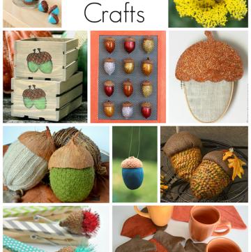 Acorn Crafts: 20 DIYs you will love!