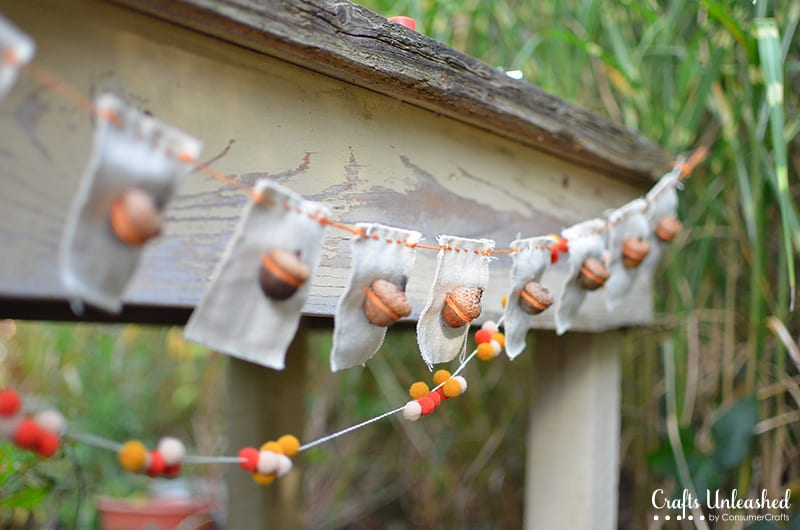 Acorn Bunting tutorial by A Nest for All Seasons