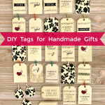 DIY Tags for Handmade Gifts or Favors