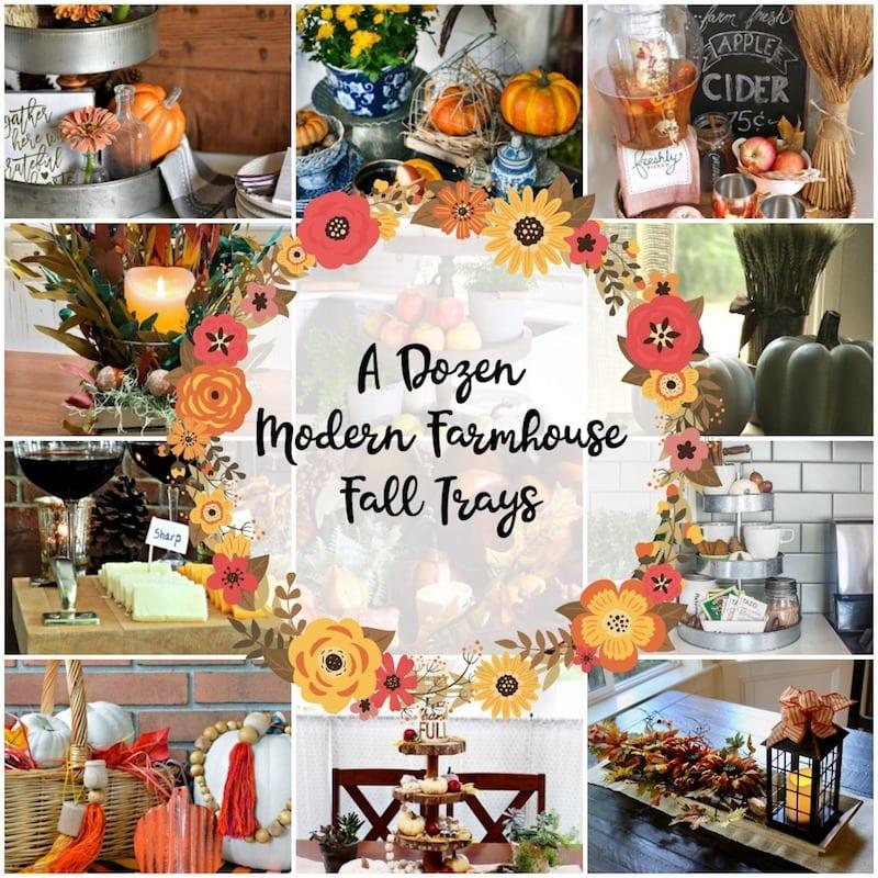 How to Create a Lovely Fall Farmhouse Tray