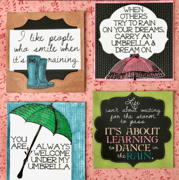How to make decorative scrapbook paper magnets