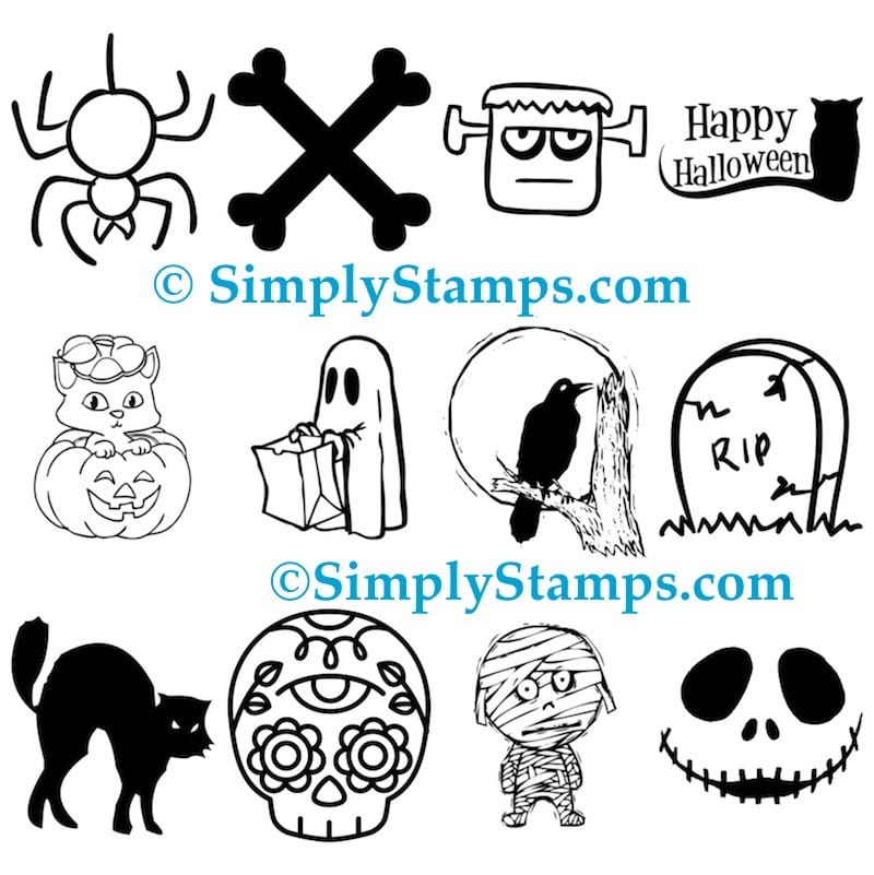 Halloween Self-Inking Stamps by Simply Stamps