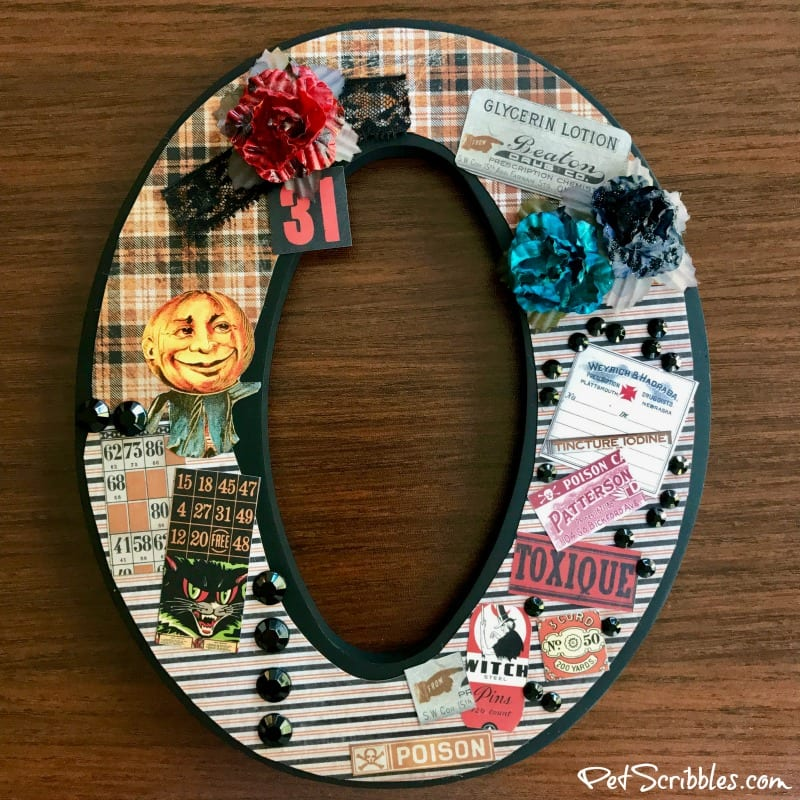 BOO Halloween Letters with Xyron!