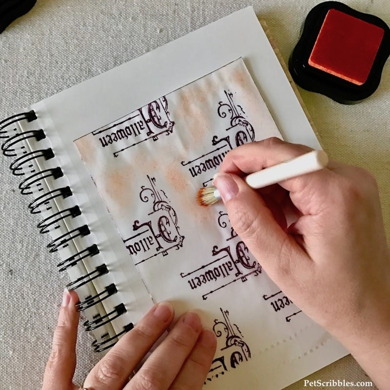How to Stamp Charming Halloween Treat Bags!