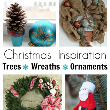 Christmas Inspiration: 100 Trees, Wreaths and Ornaments that you can make! (From the All Things Creative bloggers!)