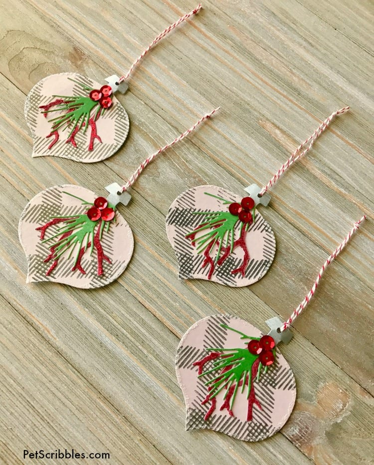 How to Make Easy and Elegant Christmas Paper Ornaments