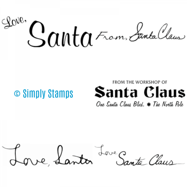 From Santa Stamps by Simply Stamps