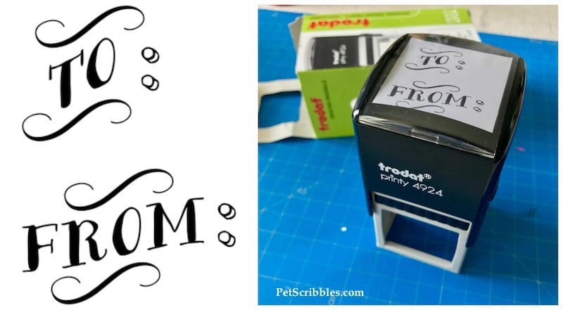To From Stamp by Simply Stamps