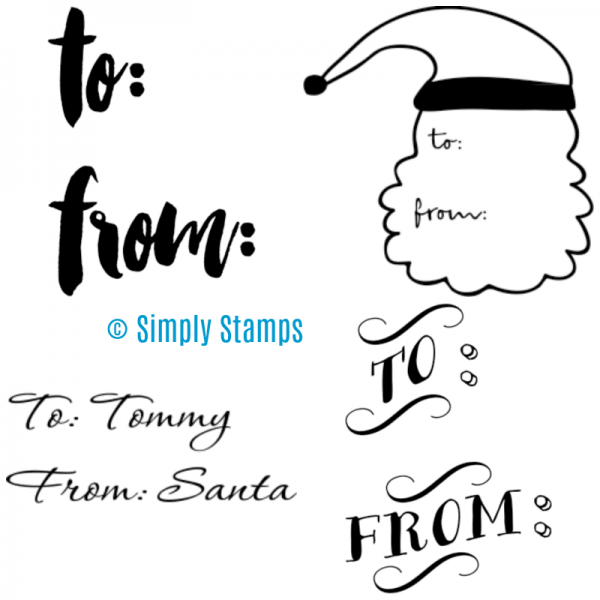 To From Stamps by Simply Stamps