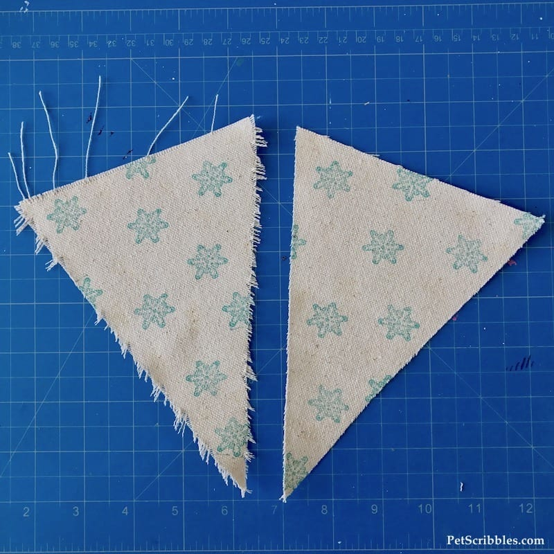 Farmhouse Decor: How to make a sparkling snowflake banner!