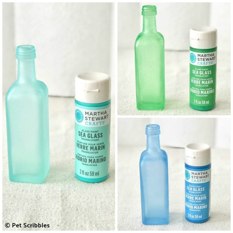 Martha Stewart Sea Glass Paint Tutorial