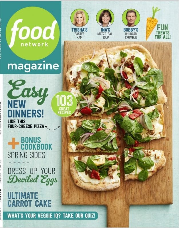 Food Network Magazine - April 2018
