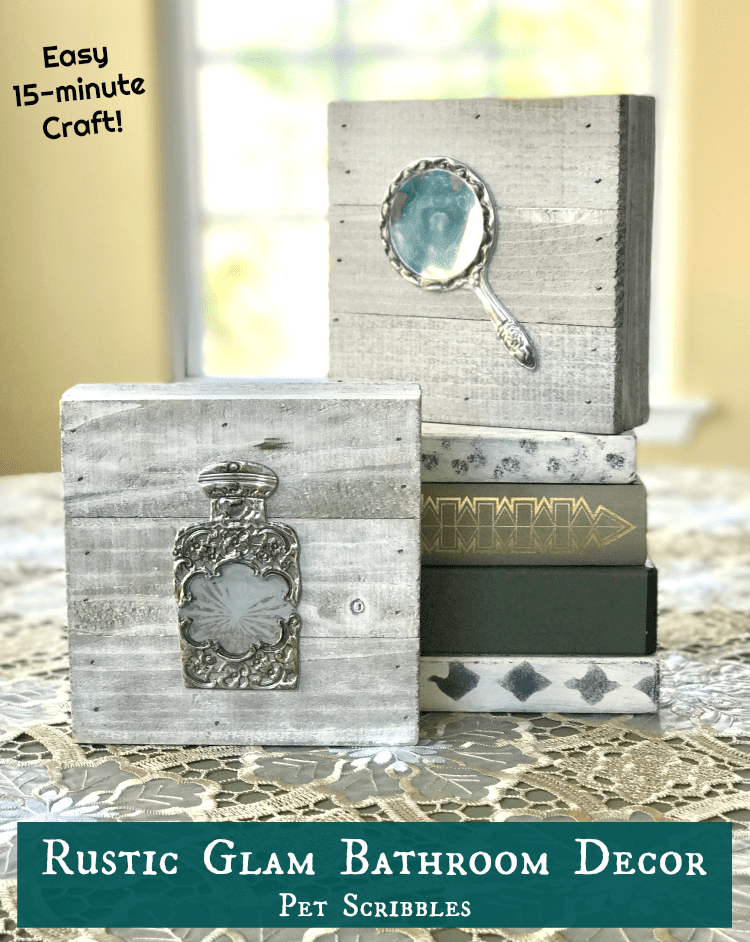 lovely rustic bathroom decor you can easily make - Rustic Bathroom Decor