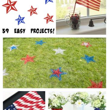 Patriotic DIYs: 39 easy projects!