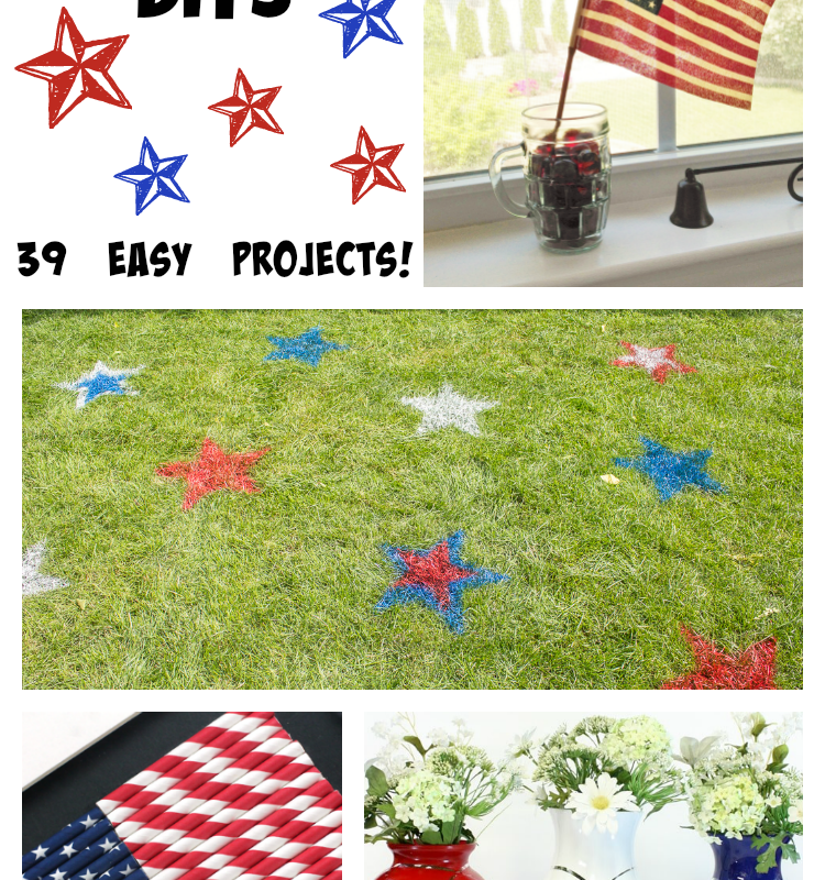 Patriotic DIYs: 39 easy projects!