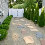 Side Yard Makeover: Easy Care and Attractive