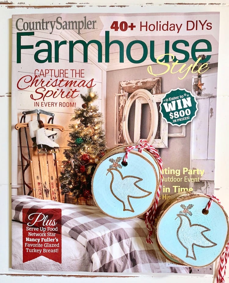 Farmhouse Style Holiday 2018 issue