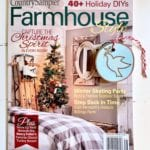 Farmhouse Style Magazine Shares My Dove Ornament!