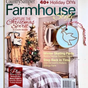 Farmhouse Style Magazine Holiday 2018