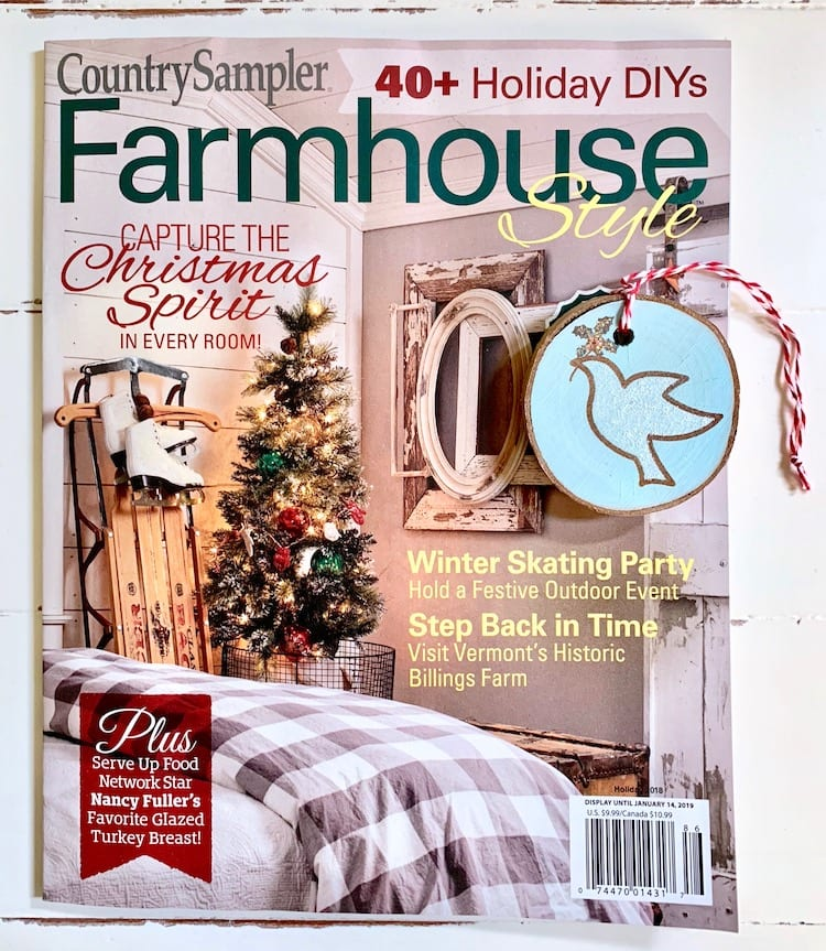 Farmhouse Style Magazine Holiday 2018