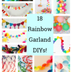 Rainbow Garland DIYs – 18 Stunning Projects!