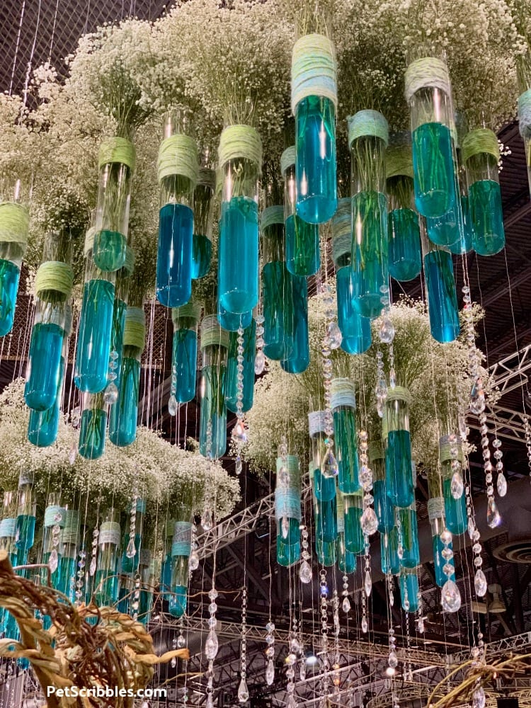 2019 Philadelphia Flower Show display by the American Institute of Floral Designers (AIFD)
