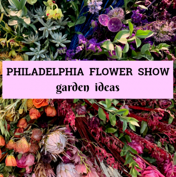 Philadelphia Flower Show photos filled with garden ideas and inspiration, from the 2019 show titled Flower Power!