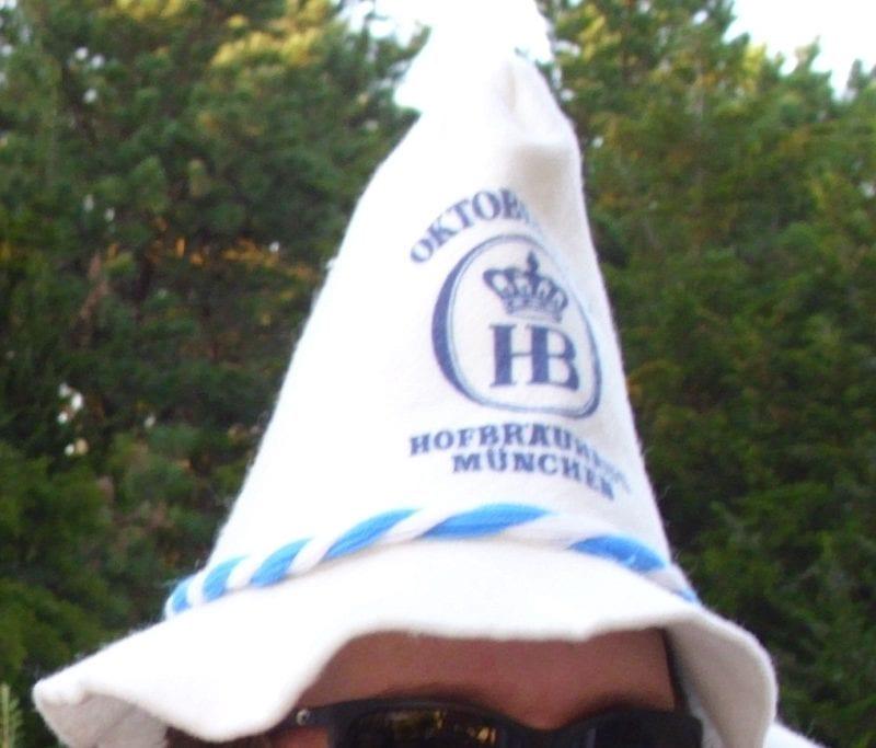 traditional German Oktoberfest Hat