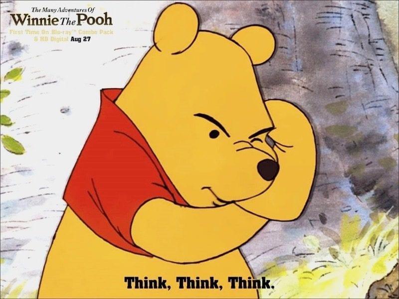 Winnie the Pooh image copyright Walt Disney Studios