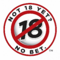 logo that says must be over 18 to play NJ Lottery