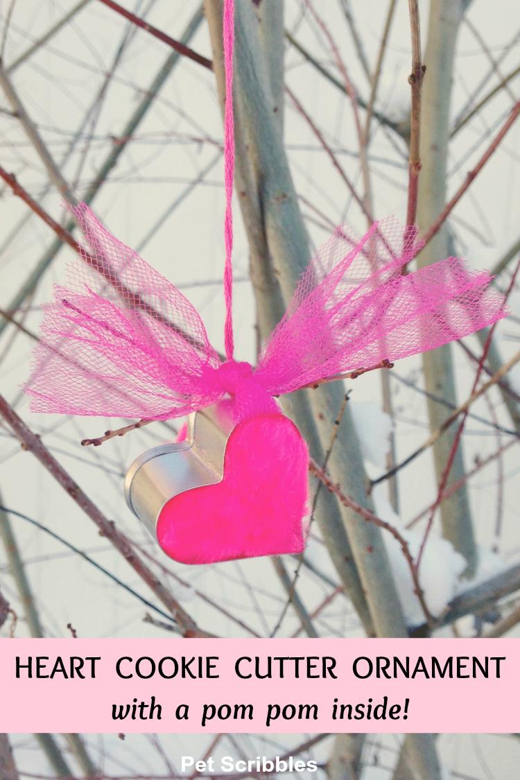 heart cookie cutter ornament