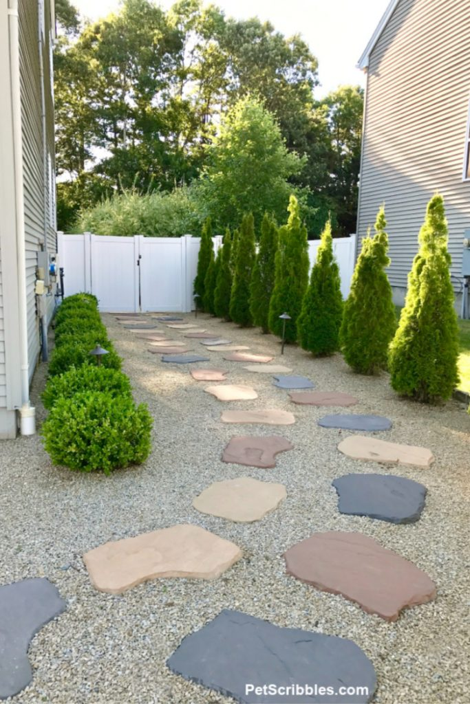 simple side yard makeover