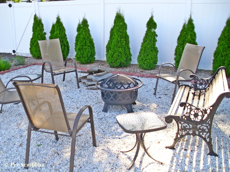 firepit seating