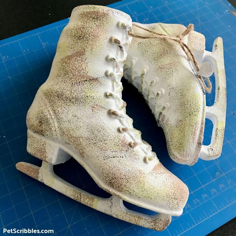 dollar store ice skates